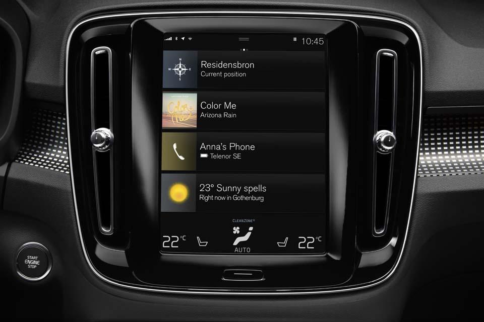 The New Volvo XC40 Interior