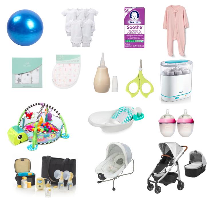 Esenciales para bebé
