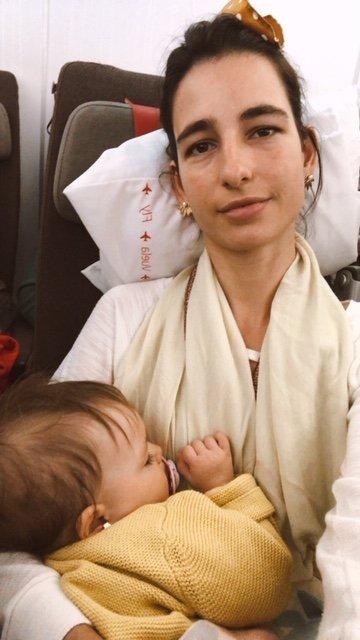 Tips para el primer viaje largo con bebé